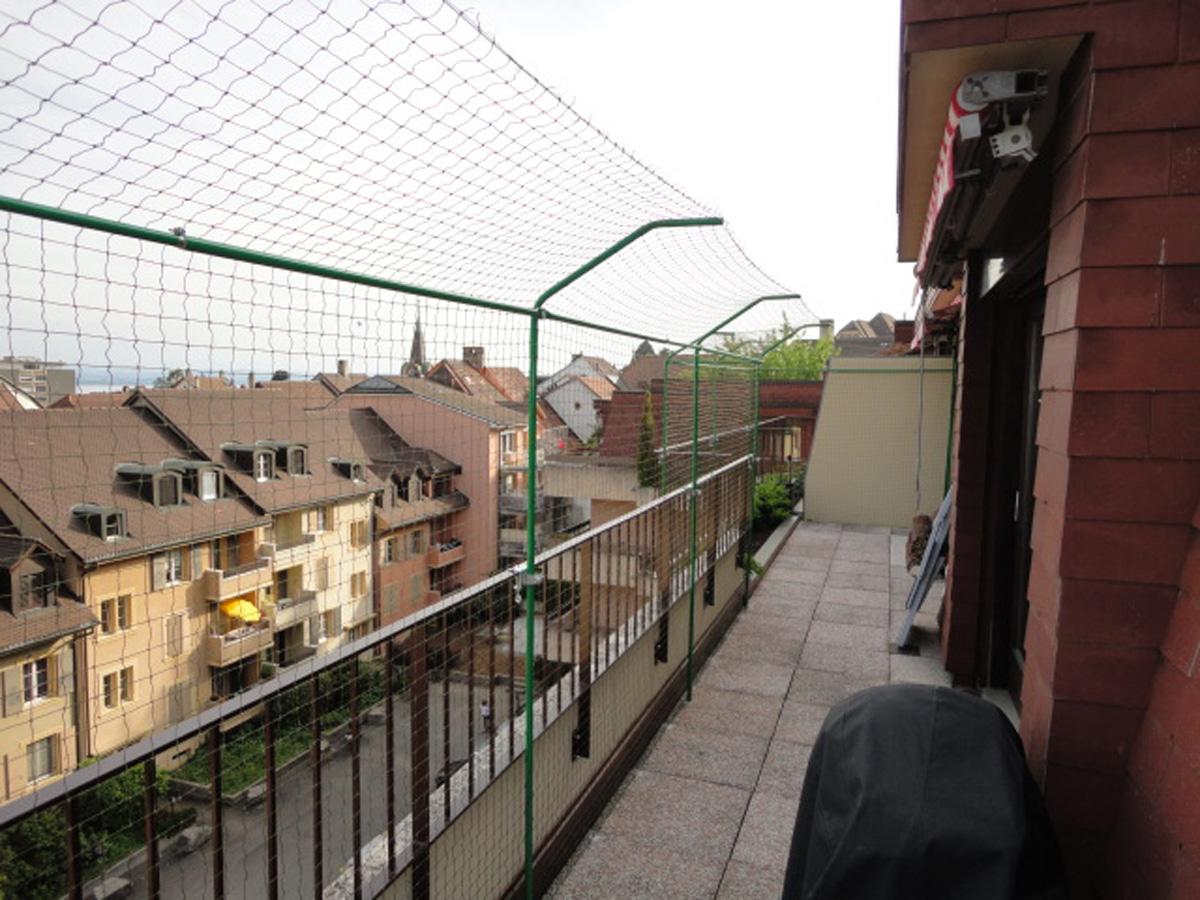 Clôture anti fugue pour terrasses  Securitechatsch