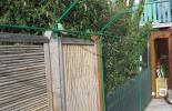 Clôture anti fugue jardin
